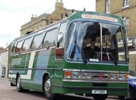 Vintage coach for weddings in Wisbech